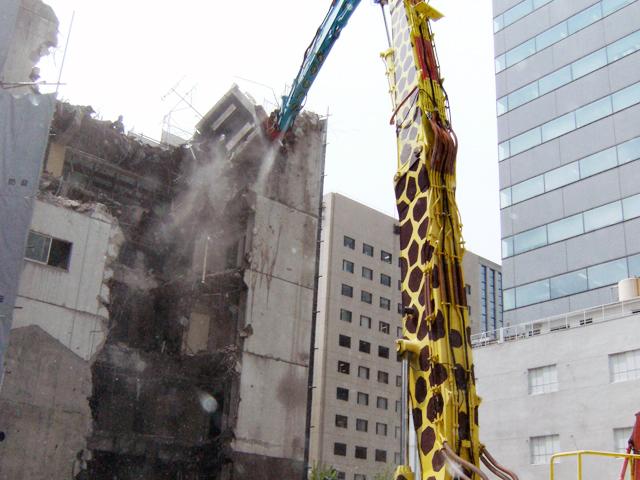 愛知県大府市 ビル解体工事